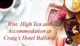 High Tea at Craig's Hotel Ballarat
