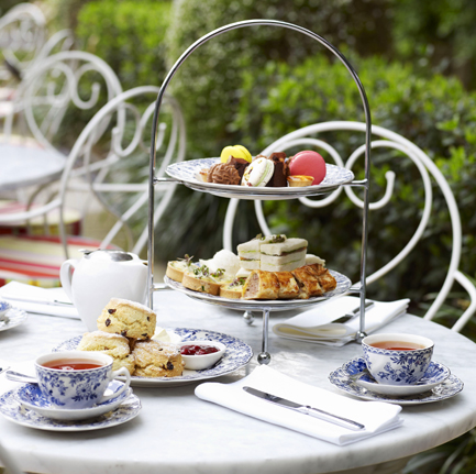 High Tea at the Vaucluse House Tearooms, Sydney