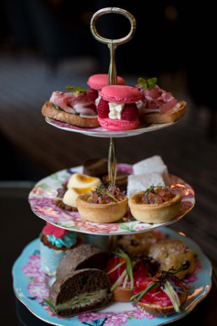 High tea at the Stillery - InterContinental Double Bay