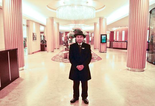 Concierge at the Sofitel Sydney