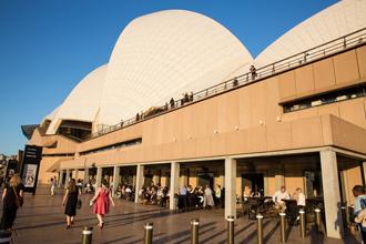 Western Foyers, Sydney Opera House